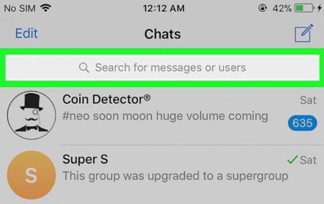 Как искать каналы в telegram приложении