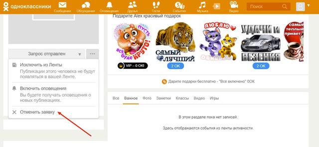 Заявки в друзья в Одноклассниках: посмотреть, принять, отменить