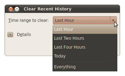 Как почистить историю в Мозиле