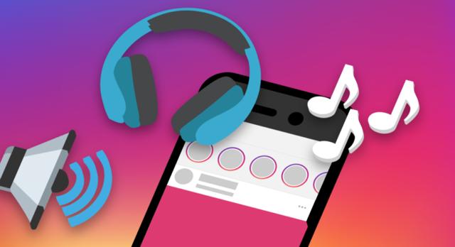 Как добавить музыку и наложить ее в сторис в Инстаграм