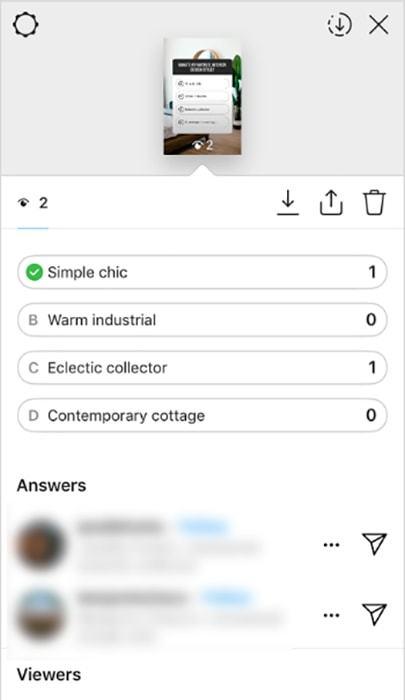 Викторина в Инстаграм в истории: как сделать и посмотреть результаты